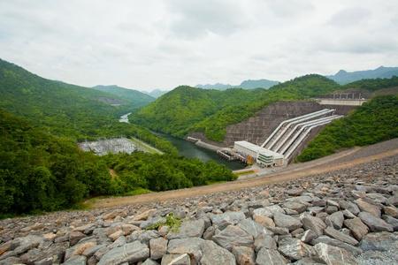 hydro: Hydro Power Electric Dam in Thailand