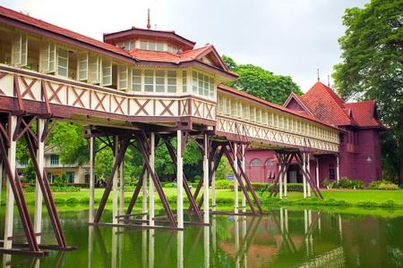 king of thailand: Corridor in Sanamjan palace of Thailand