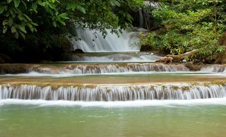 khamin: Huai Mae Khamin Waterfall in Thailand