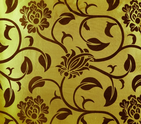 flower fabric texture, decorative colored canvas Stock Photo - 11906049