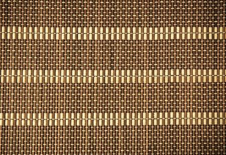 Wicker wood pattern as background photo