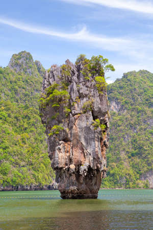 Beautiful tropical beach with big stones Stock Photo - 12659730