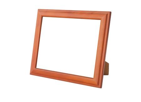 Photo frames isolated on white background