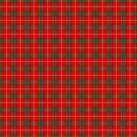 plaid: Red plaid pattern as background Stock Photo