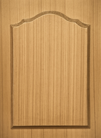 Pattern of wood frame carve on wood background photo
