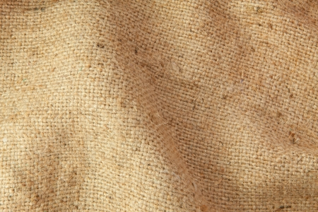 Texture sack sacking country as the background