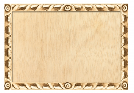 Pattern of wood frame carve as background photo