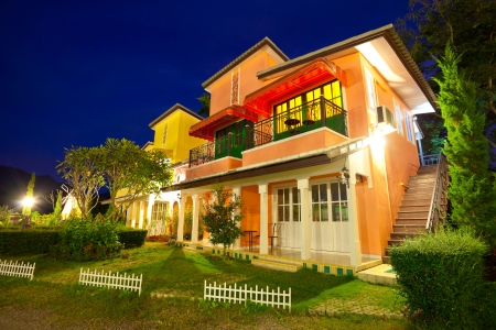 Italy house style of resort in Pai Maehongson ,Thailand