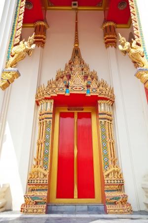 entranceway: Temple portal gold in Thailand