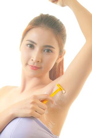 Asian girl armpits