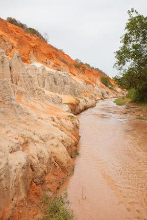 ne: The Fairy stream near Mui Ne, Vietnam