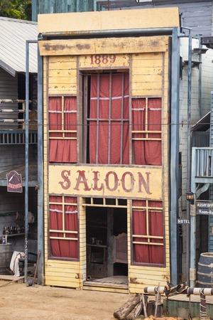 gunfights: Saloon in Wild West style