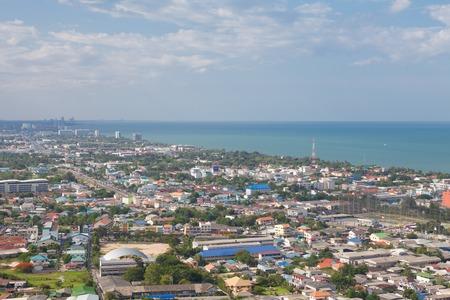 hua hin: Hua Hin City,Thailand,View from the top.