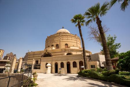 coptic orthodox: Coptic Christians church in Cairo Egypt