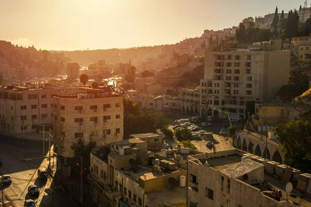 Aerial view of Amman City, The capital of Jordan Banque d'images