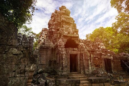 Prasat Banteay kadei temple, in Siem reap, Cambodia