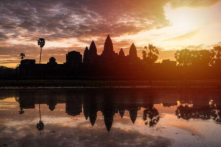 Sunrise at Ankor Wat, Siem Reap, Cambodia