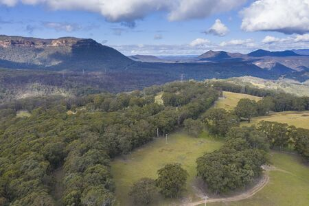 Megalong Valley in The Blue Mountains in Australia