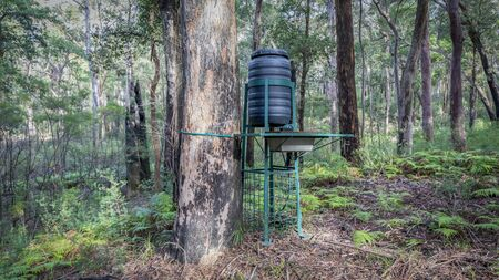 A wildlife watering system in the Australian National Parks program