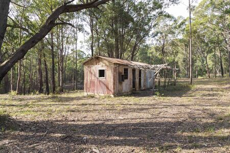 An old dilapidated building in the Wollemi National Park in regional New South Wales