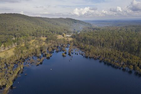 Mountain Lagoon in Wollemi National Park in regional New South Wales