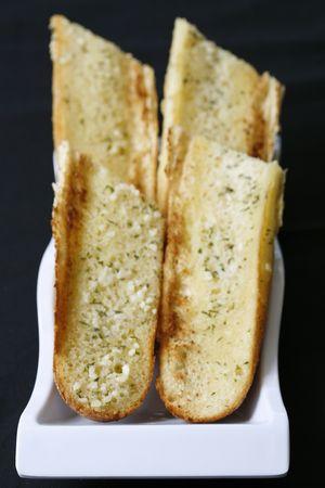garlic bread Banco de Imagens