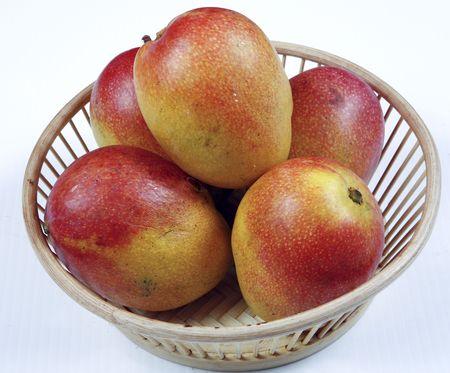 mangoes Banco de Imagens - 6129731