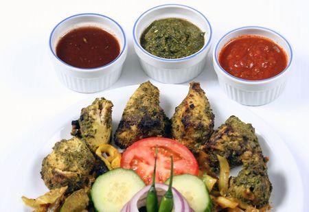 haryali chicken Фото со стока