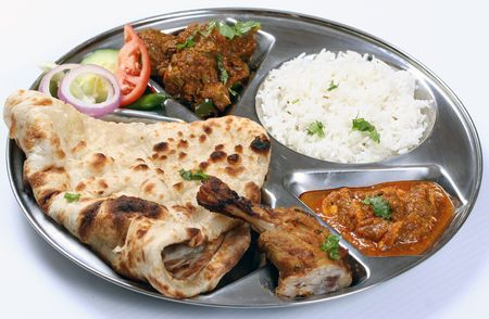 non vegetarian thali Stock Photo - 6404895