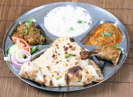non: non vegetarian thali