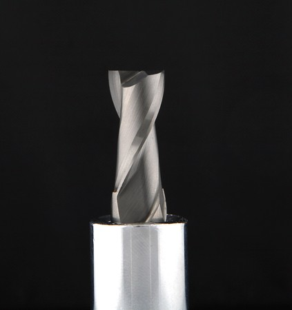 cutter: end mill cutter for machinist Stock Photo