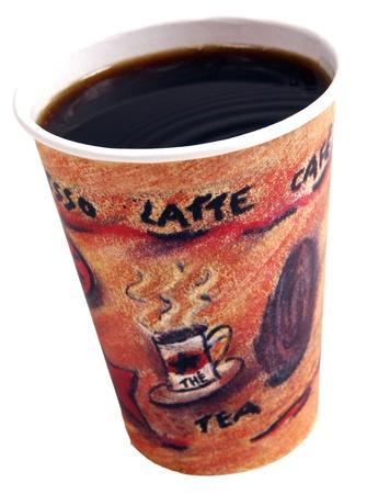 coffee cups: coffee cup Stock Photo