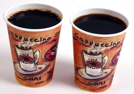 coffee cups Archivio Fotografico
