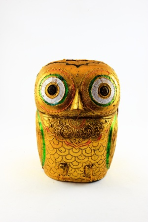 the Owl Statue of asia