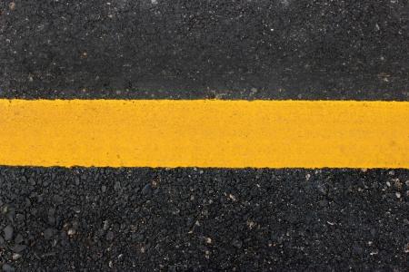 Yellow line on road texture Stock Photo - 17746251