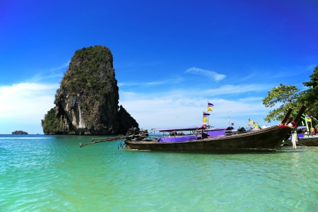 Sea of krabi thailand photo