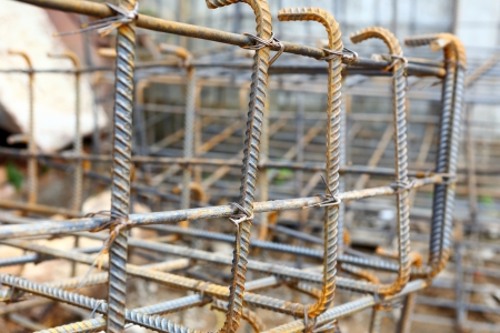 steel rod for construction job  Stock Photo - 20642209