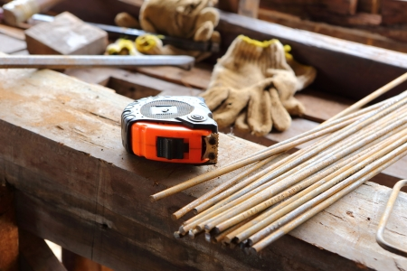 steel rod for construction job Stock Photo - 20642200