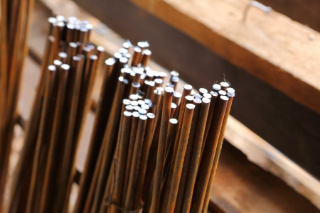 steel rod for construction job  Stock Photo - 20642091