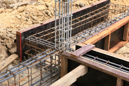 strong foundation: foundation for home building