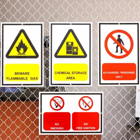 se�alizacion de seguridad: se�ales de seguridad generales