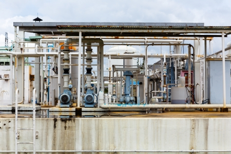 Nitrogen chemical plant for factory photo