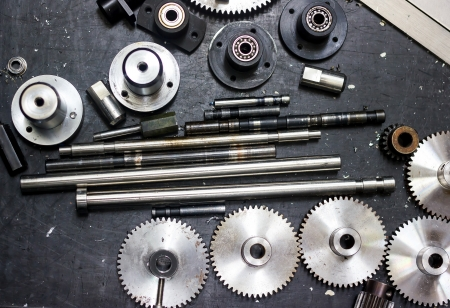 gear and Bearing for machine Stock Photo - 21481658