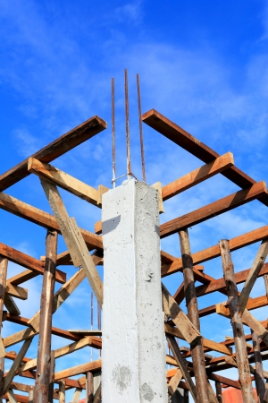 2x4 wood: set of wood pine timber for New Home Construction  Stock Photo