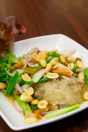 Vermicelli Salad for diet  photo