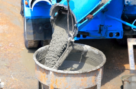 Cement for home builder  Stock Photo