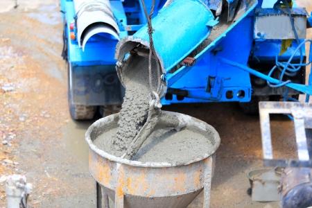 Cement for home builder  Standard-Bild