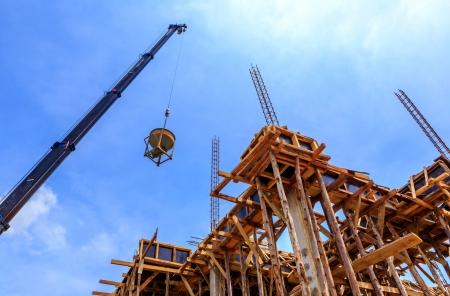 Cement for home builder  版權商用圖片