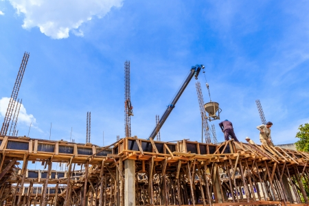 home builder: Cement for home builder  Stock Photo