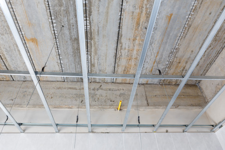 ceiling setup for house building photo